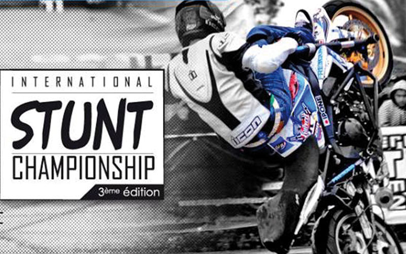 Compétition motos :  Le Stunt Championship s'invite  au Morocco Mall