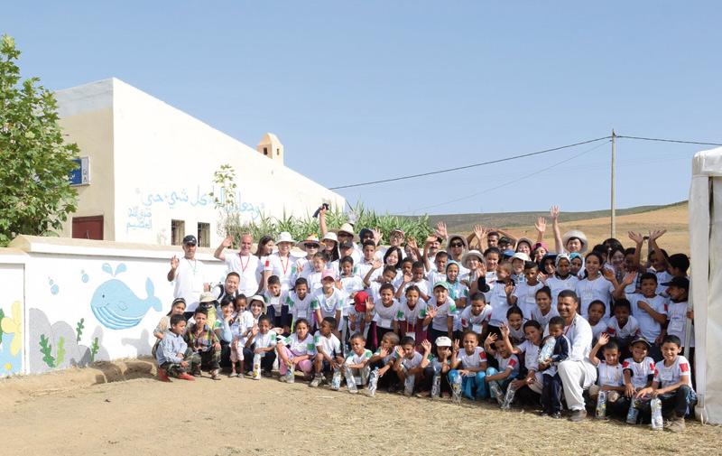 «Camp les Ailes»: World Friends Korea  fait escale à Azrou