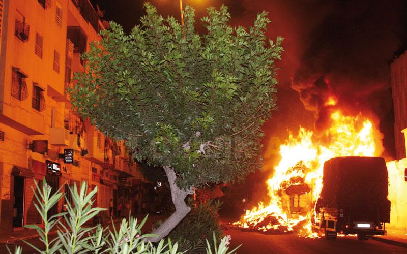 Incendie de quatre voitures à Tétouan: La police judiciaire ouvre une enquête