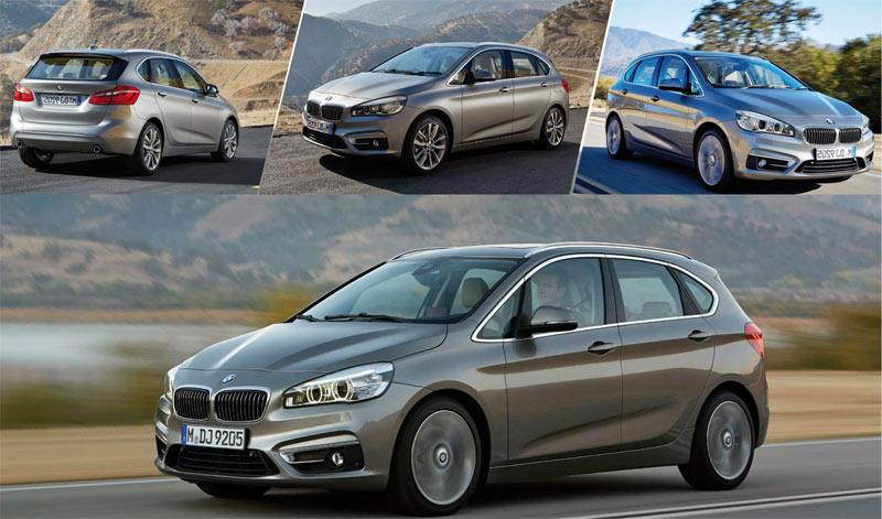 BMW Série 2 Active Tourer :  Monospace chicos !