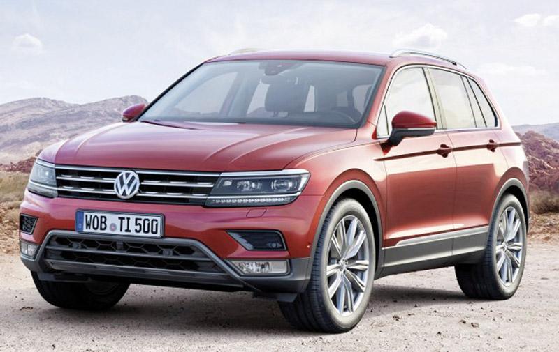 Volkswagen : Voici le nouveau Tiguan !
