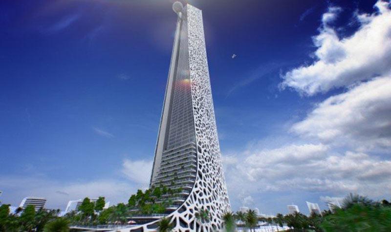 Construction d'une tour de 114 étages, une rumeur selon l'Agence d'Urbanisation d'Anfa
