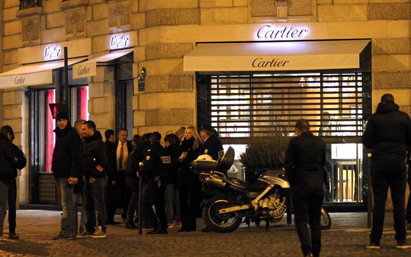 Braquage d'une bijouterie Cartier du VIIIe arrondissement de Paris