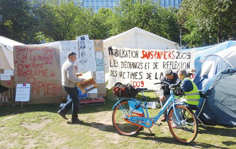 Une journée chez les réfugiés à Bruxelles: Ils sont syriens, somaliens et même marocains…