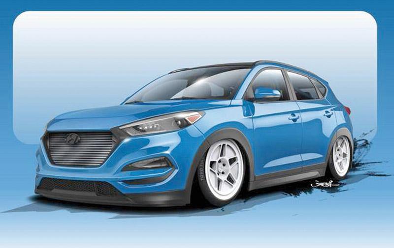 Hyundai : Un Tucson de 700 cv au SEMA Show !