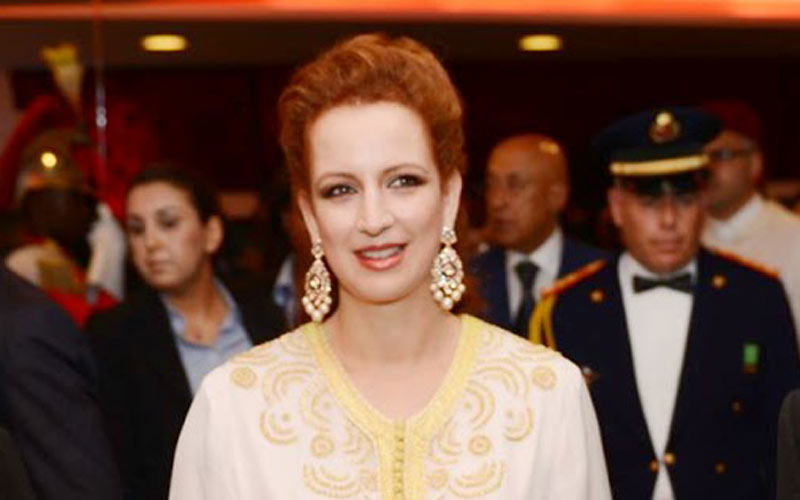 Don d'un million de dollars de l'Emir du Koweït à la Fondation Lalla Salma