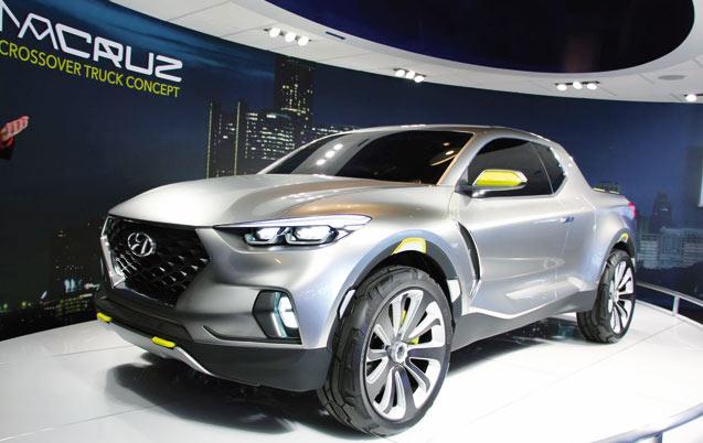 Hyundai Santa Cruz Concept: Quand la polyvalence est de mise