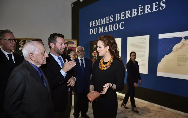 SAR la Princesse Lalla Salma inaugure l'exposition «Femmes berbères du Maroc»
