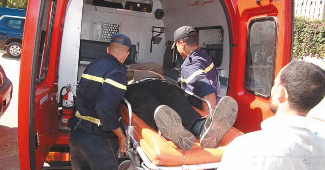 Trente blessés dans un accident d'autocar près de Témara