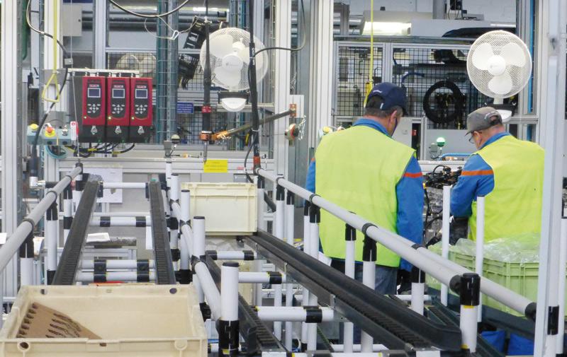 L'activité industrielle ralentit en juillet
