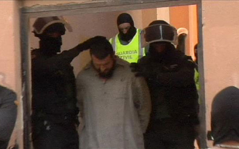 Espagne : neuf membres d'un réseau jihadiste devant la justice