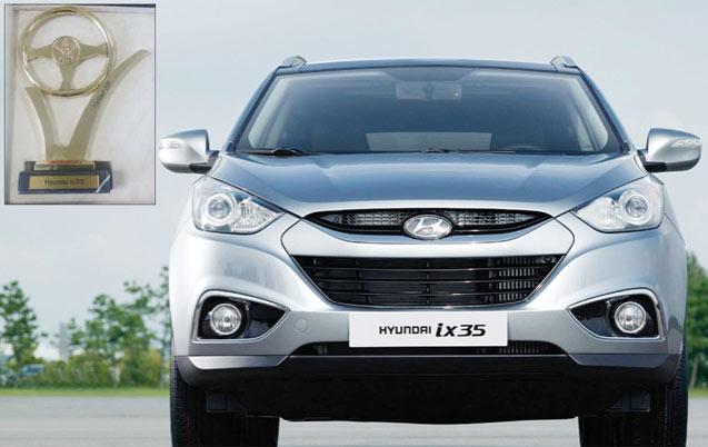Trophées de l'automobile: Consécration pour le Hyundai iX35