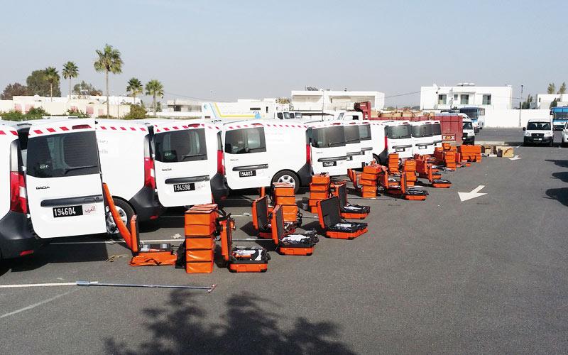Détection des fuites d'eau: L'ONEE livre 10 unités mobiles