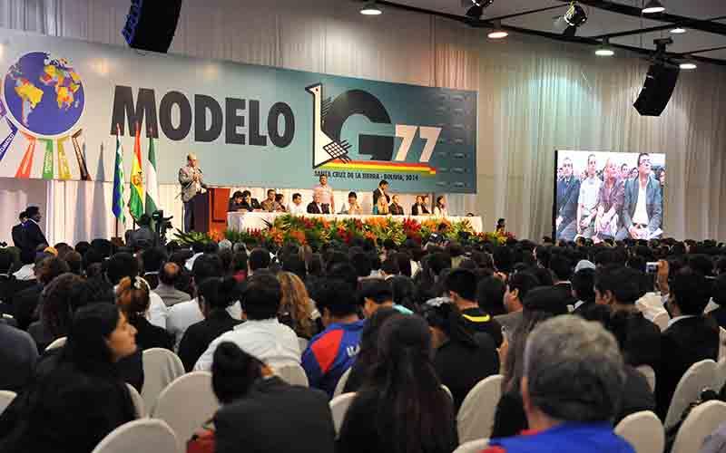 Le Maroc en Bolivie pour le G77+Chine