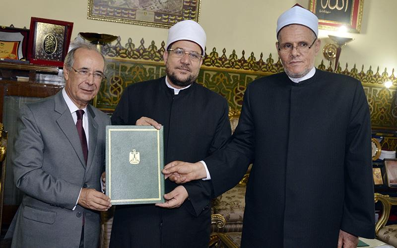 Coopération religieuse: le Maroc et l'Egypte signent un accord