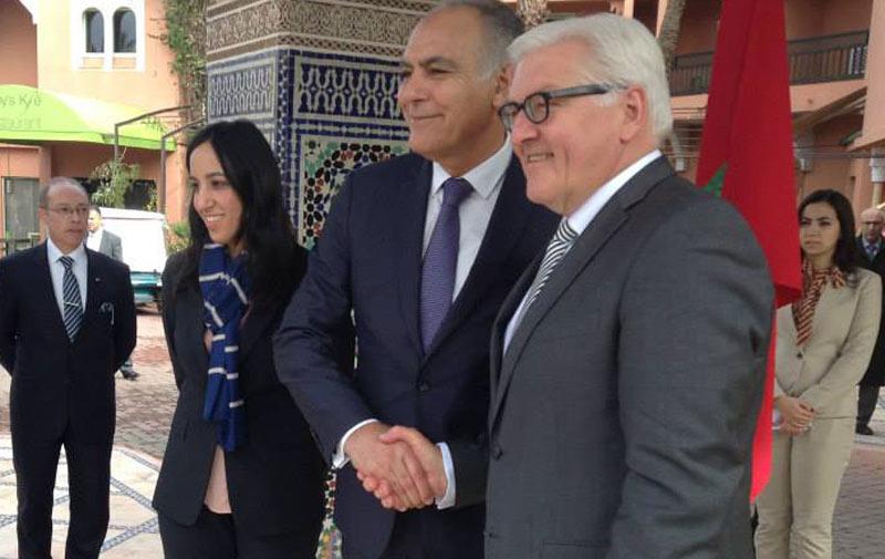 Diplomatie : Mezouar reçoit le ministre des affaires étrangères allemand