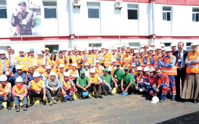 Total : Pas d'accident du travail pour l'usine de Berrechid