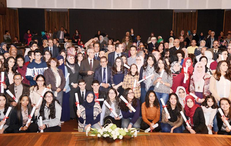 La Fondation Mohammed VI récompense 513 bacheliers