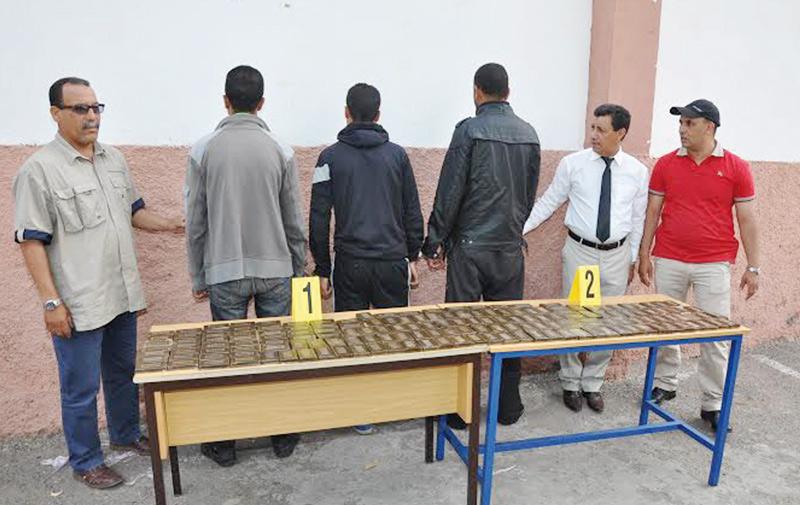 Casablanca : Arrestation de 3 trafiquants de drogue en possession de 23 kg de haschich