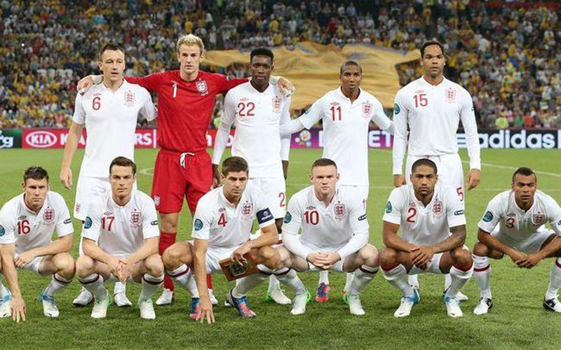 Coupe du monde 2014 : Equipe d'Angleterre