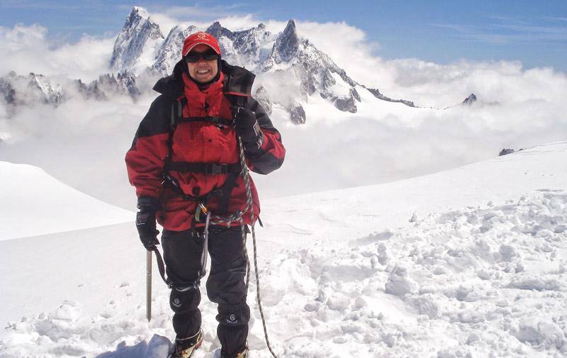 Alpinisme: Baibanou au sommet de la gloire