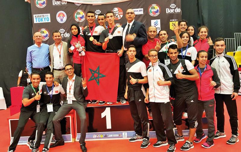 Bonne moisson pour le Maroc: Aérobics, fitness, hip hop, tir….