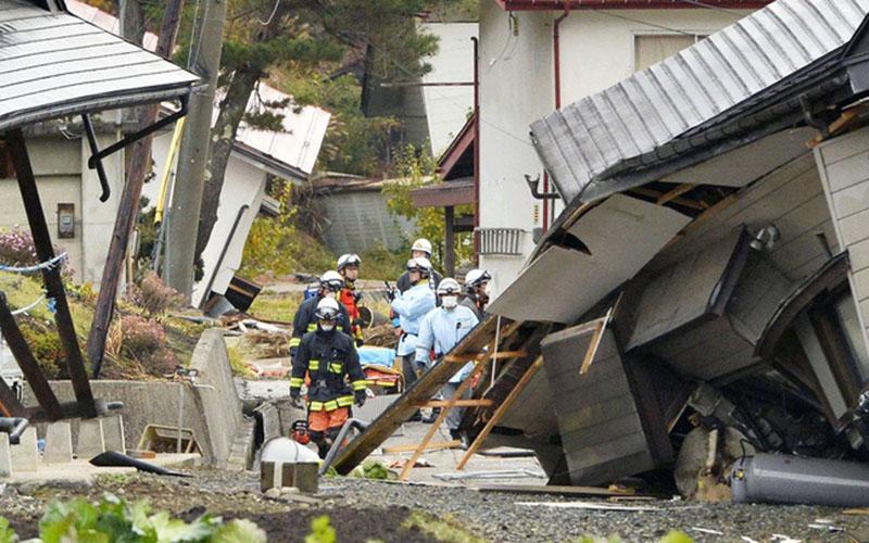 Séisme au Japon de magnitude de 6,8