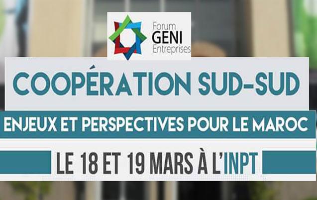 Forum G.E.N.I Entreprise : La coopération Sud-Sud au cœur du débat