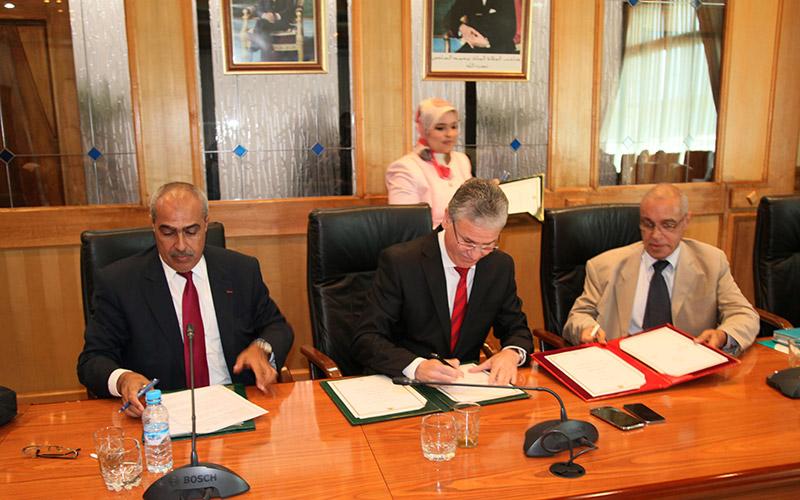 Santé: Signature à Rabat de trois conventions relatives à l'AMO et à la prévention