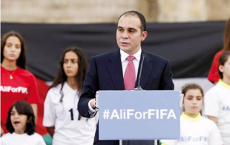 Présidence Fifa :  Le Prince Ali  officiellement candidat