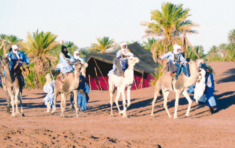 «Caravane culturelle de la paix»  de M'hamid El Ghizlane à Bamako