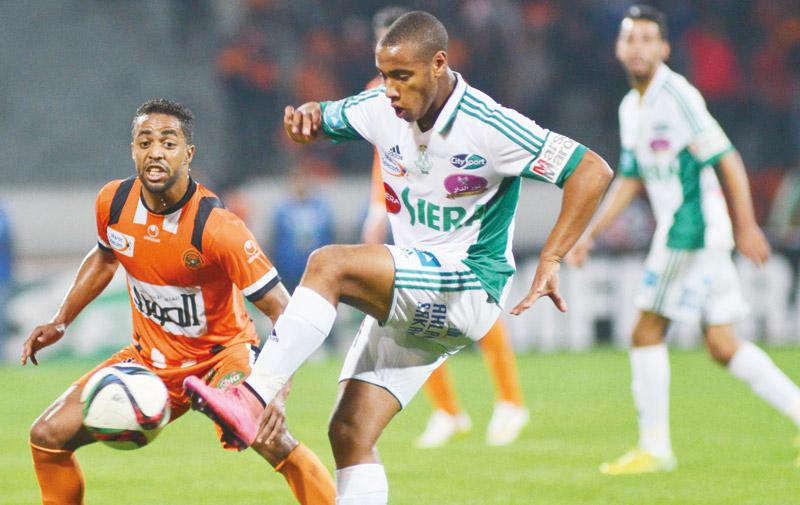 Botola Maroc Telecom D1 de football: Benhalib sauve Taoussi et le Raja à une semaine du derby