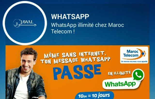 Le WhatsApp accessible sur IAM