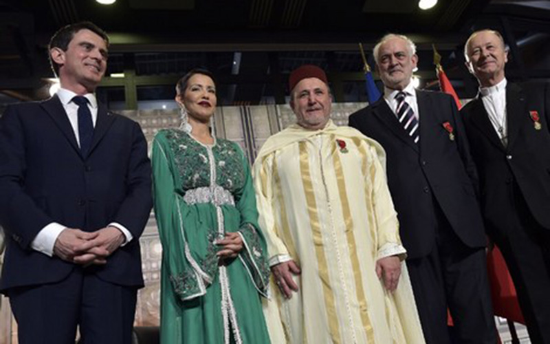 Paris : des wissams royaux remis à des représentants des trois religions