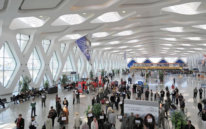 Hausse de 7.41% du trafic aérien des passagers à l'aéroport Marrakech-Menara