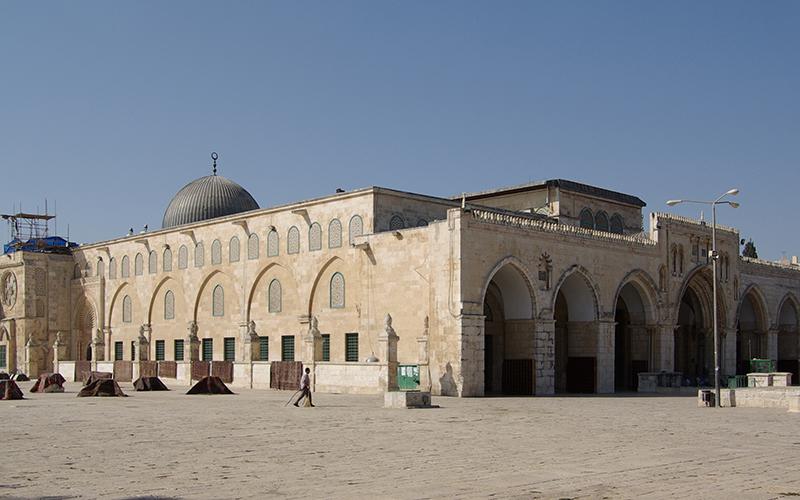 La mosquée Al Aqsa prise d'assaut par des colons juifs