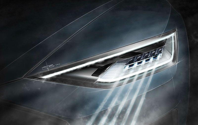 Audi : Après les phares laser, voici le «Matrix Laser» !