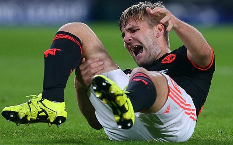Ligue des champions : la terrible blessure de Luke Shaw, le joueur de Manchester United