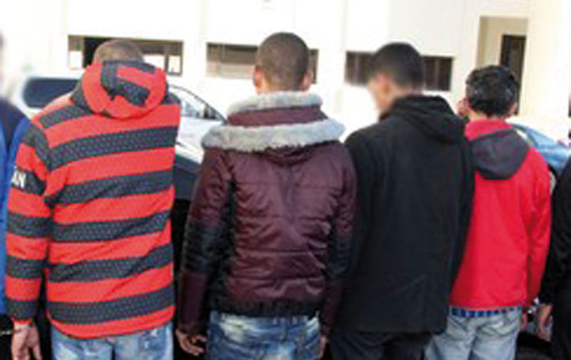 Arrestation de 5 malfrats qui ciblaient les automobilistes au niveau de l'autoroute