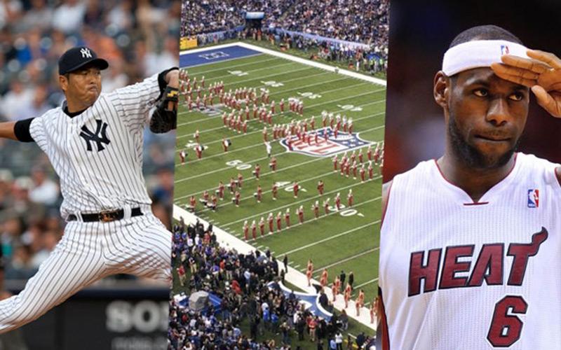 Sponsoring : Nike, LeBron James, le Super Bowl et les Yankees acteurs du sport les plus puissants au monde