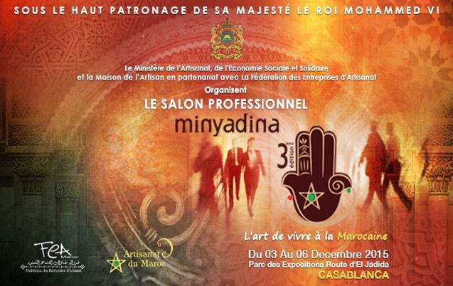 Le Salon de l'artisanat Minyadina revient pour une 3ème édition