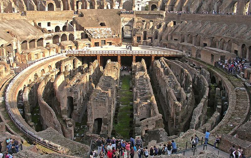 Italie : 18,5 millions d'euros pour reconstruire le plancher du Colisée