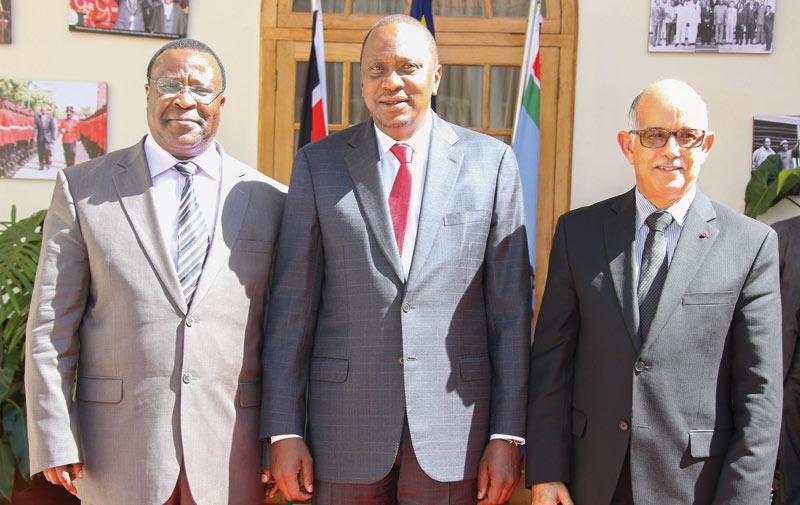 Diplomatie parlementaire: Biadillah rencontre le président kenyan