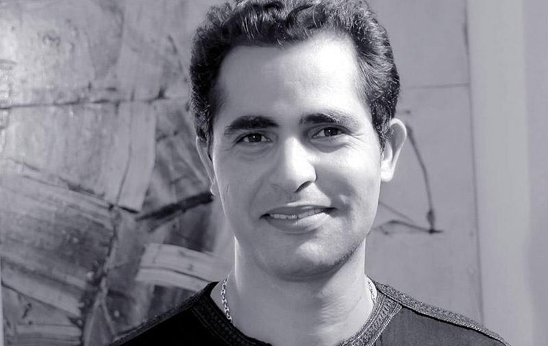 «Errance» d'Abdelaziz Lourhaz à Marrakech