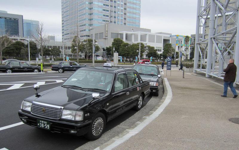 Taxis japonais: Le mode d'emploi!