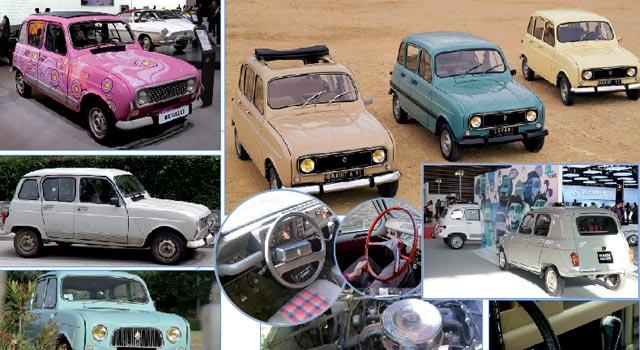 Il était une fois Renault 4: Sympathique petite bouille !
