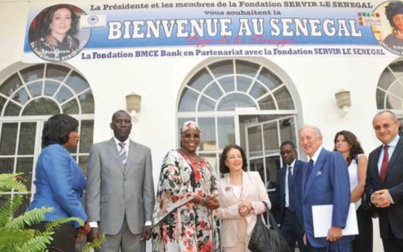 BMCE Bank soutient la fondation «Servir le Sénégal»