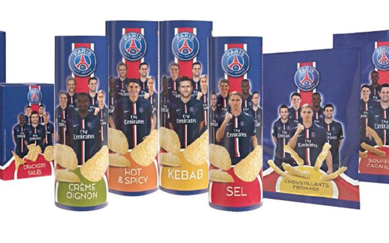 Des chips Ibrahimovic : Le PSG lance ses gâteaux apéritifs