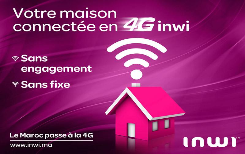 La 4G pour toute  la famille: inwi lance «i-dar»