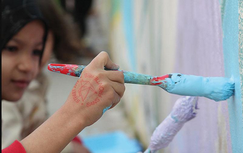 Street art sans frontières dévoile son projet Maroc 2015